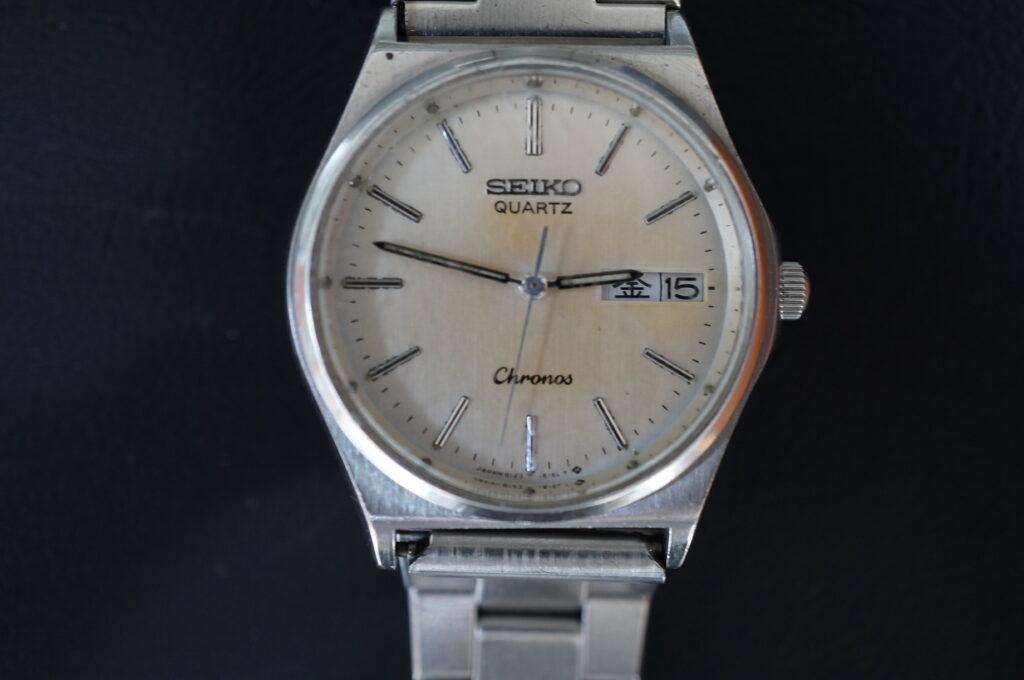 No.2430  SEIKO  (セイコー ) クオーツ式 腕時計を修理しました