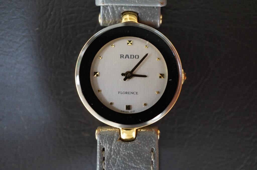 No.2411  RADO  (ラドー ) クォーツ式腕時計を修理しました