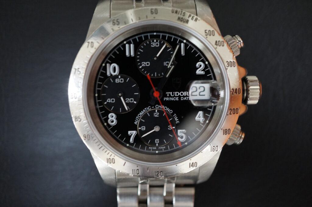 No.2420  TUDOR(チュードル)自動巻 腕時計を修理しました