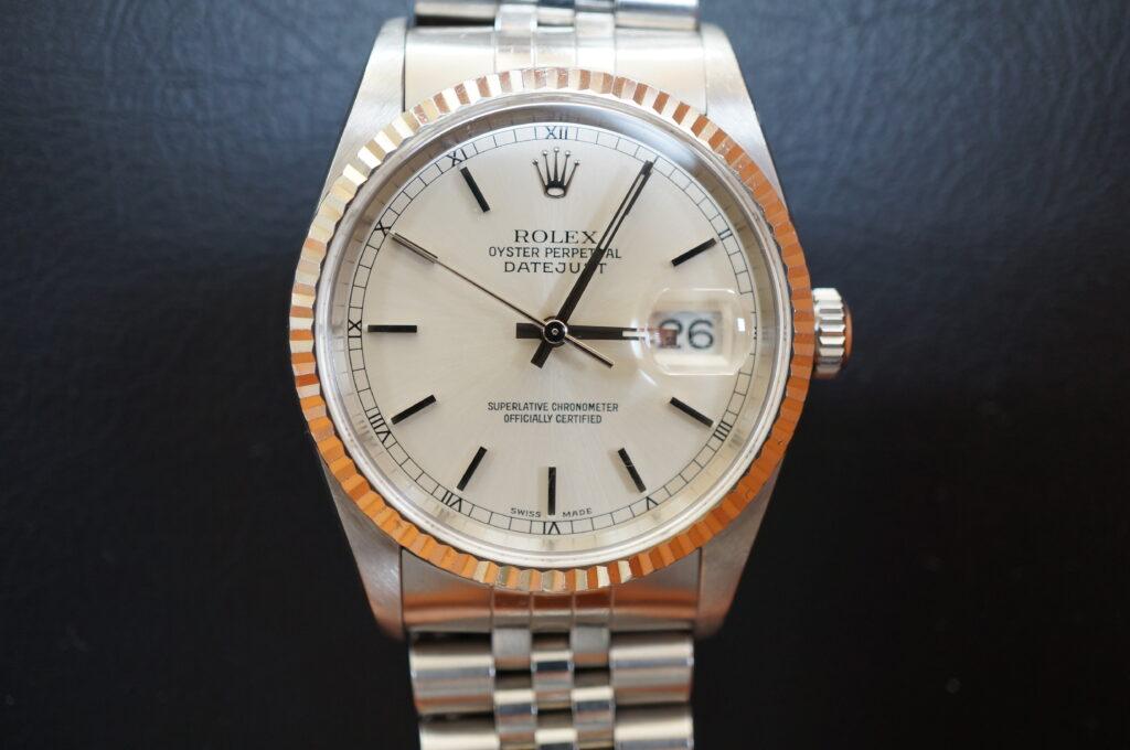 No.2418  ROLEX(ロレックス)自動巻 腕時計を修理しました