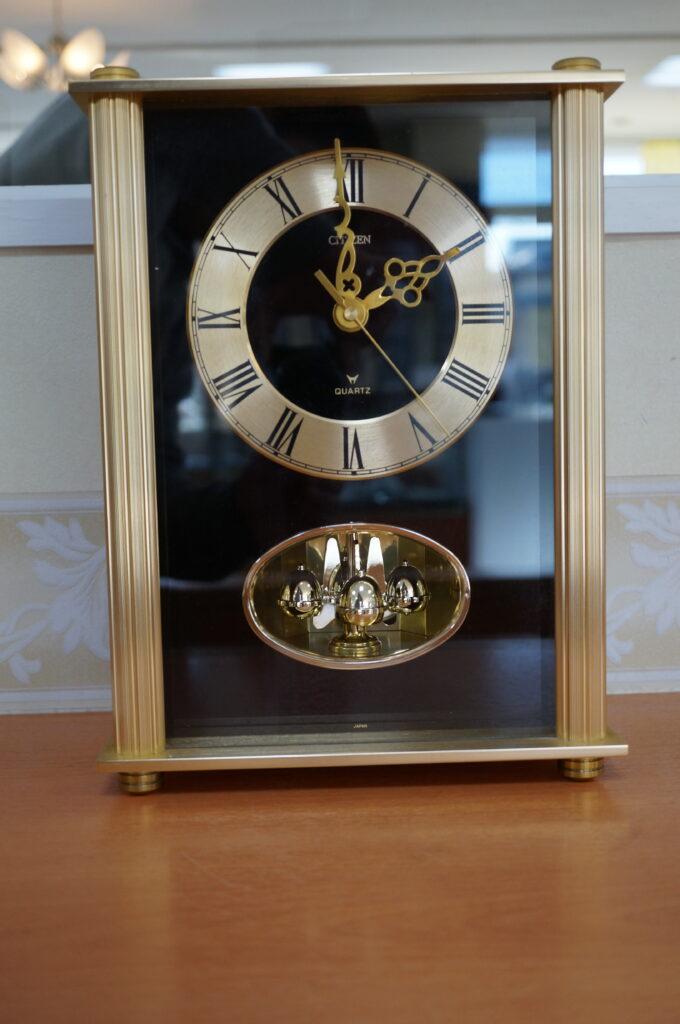 No.2433  CITIZEN(シチズン)置時計 を修理しました