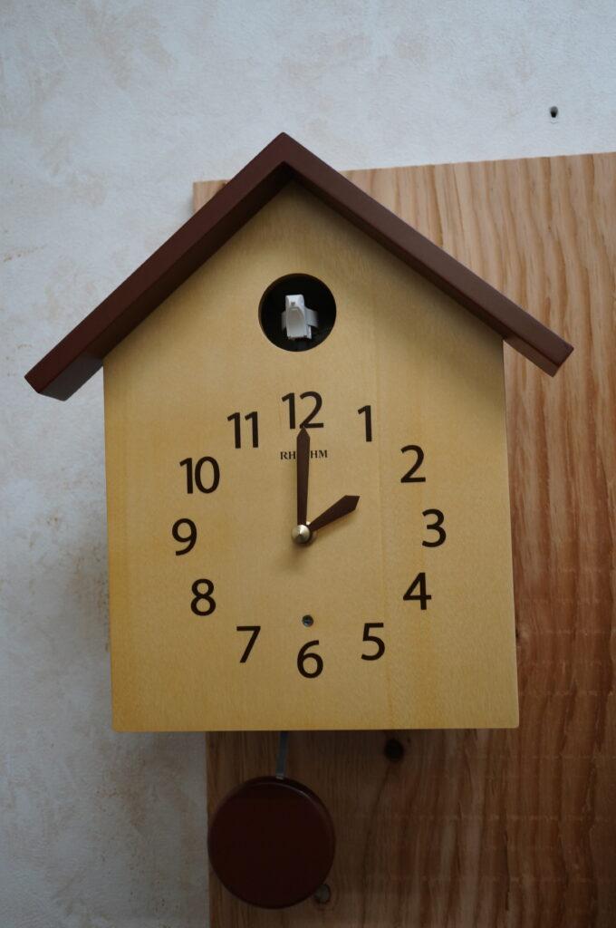 No.2432  リズム 鳩時計 を修理しました