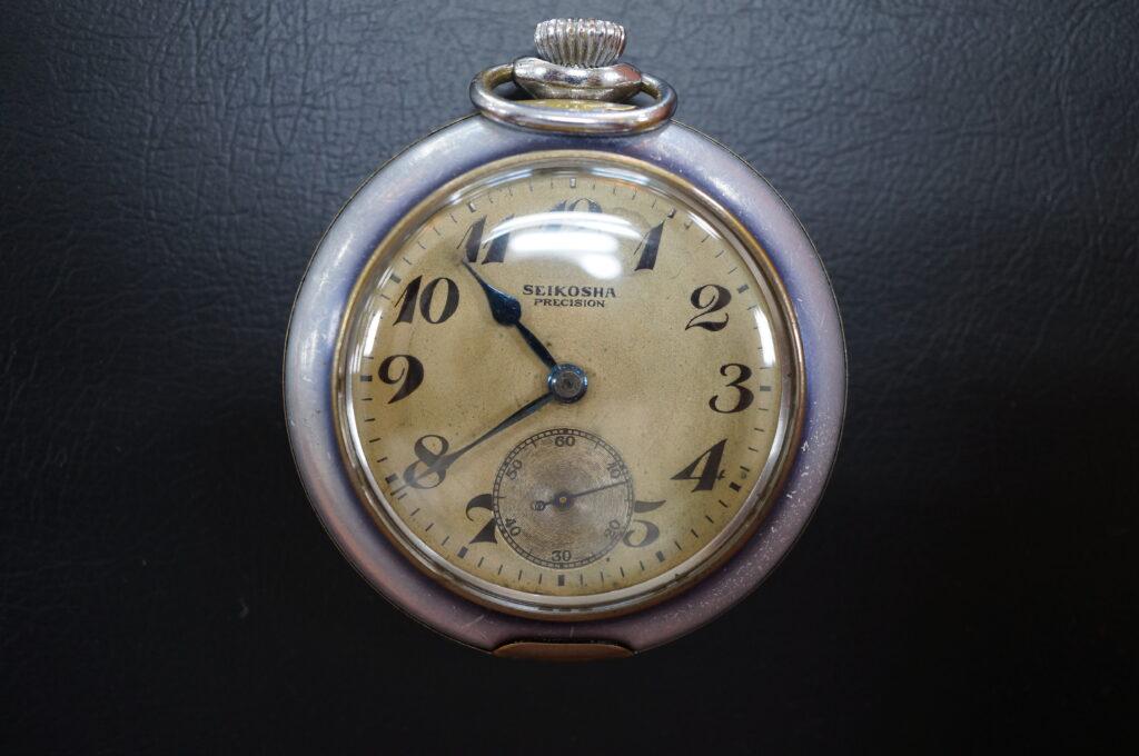 No.2413  SEIKO  (セイコー ) 手巻き式 懐中時計を修理しました