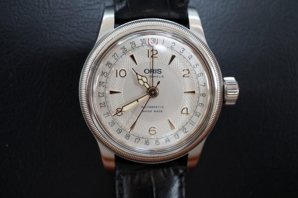 No.2415  ORIS(オリス)自動巻式 腕時計を修理しました