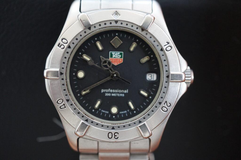 No.2414  TAG HEUER(タグホイヤー)クオーツ式 腕時計を修理しました