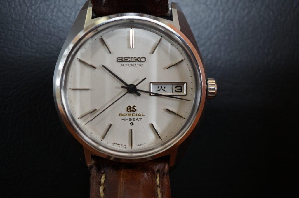 No.2436  SEIKO GS (グランドセイコー ) 自動巻き 腕時計を修理しました