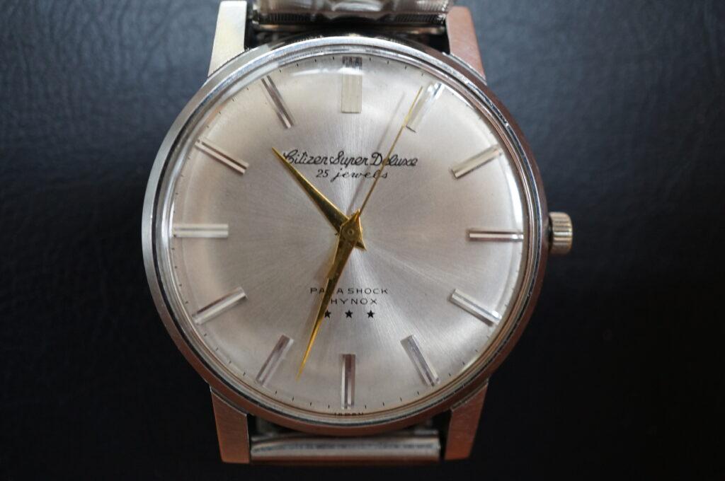 No.2456  CITIZEN (シチズン) 手巻き式 腕時計を修理しました