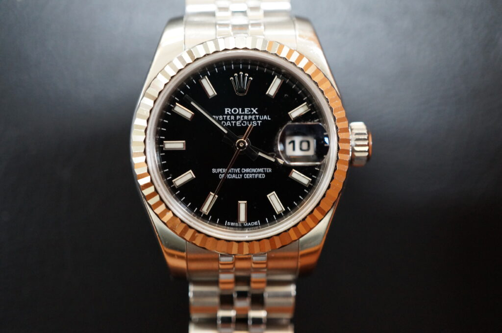 No.2440  ROLEX(ロレックス)自動巻 腕時計を修理しました