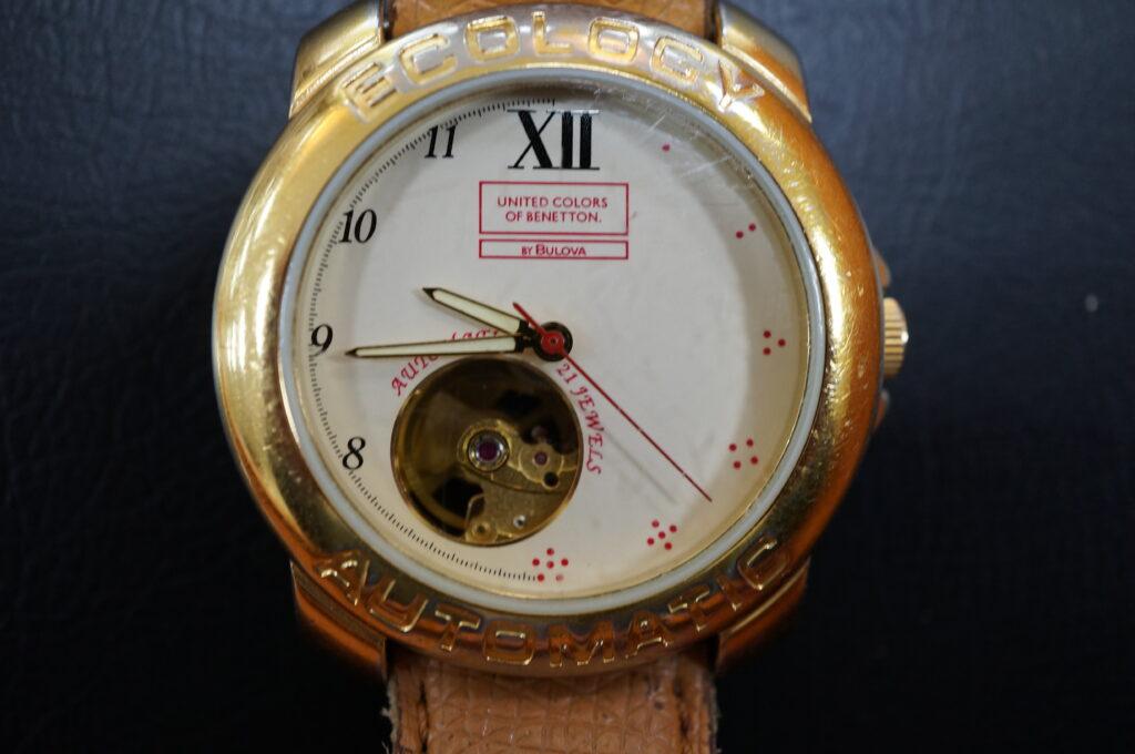 No.2453  ECOLOCY(エコロシー)自動巻 腕時計を修理しました
