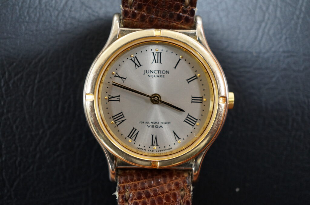 No.2454  JUNCTION クォーツ式 腕時計を修理しました
