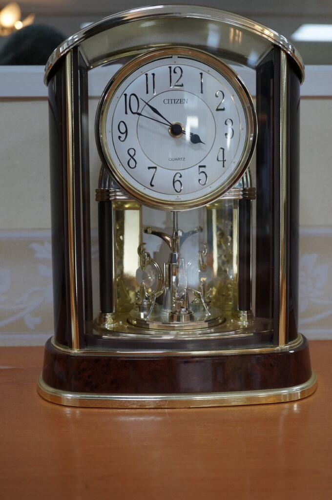 No.2439  CITIZEN(シチズン)置時計 を修理しました
