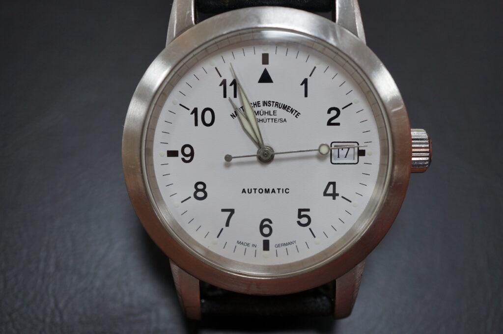 No.2471  NAUTISCIHE INSTRUMENTE(ナヒゲーションウオッチ)自動巻 腕時計を修理しました