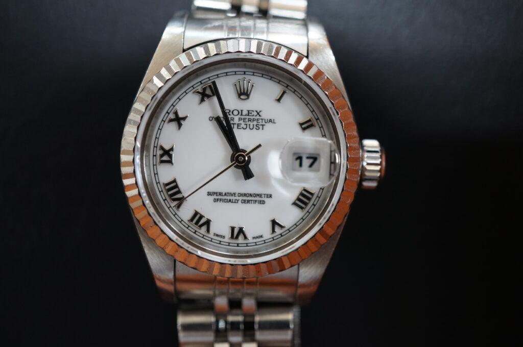 No.2459  ROLEX(ロレックス)自動巻 腕時計を修理しました