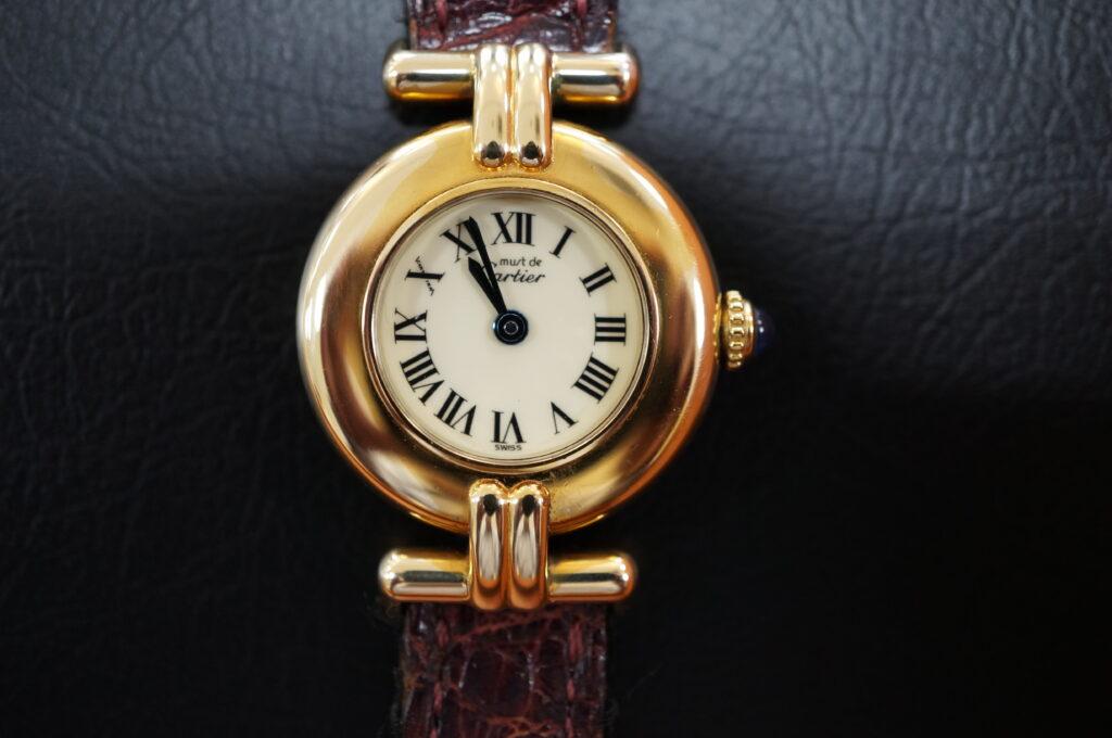 No.2460  CARTER(カルティエ) クォーツ式 腕時計を修理しました