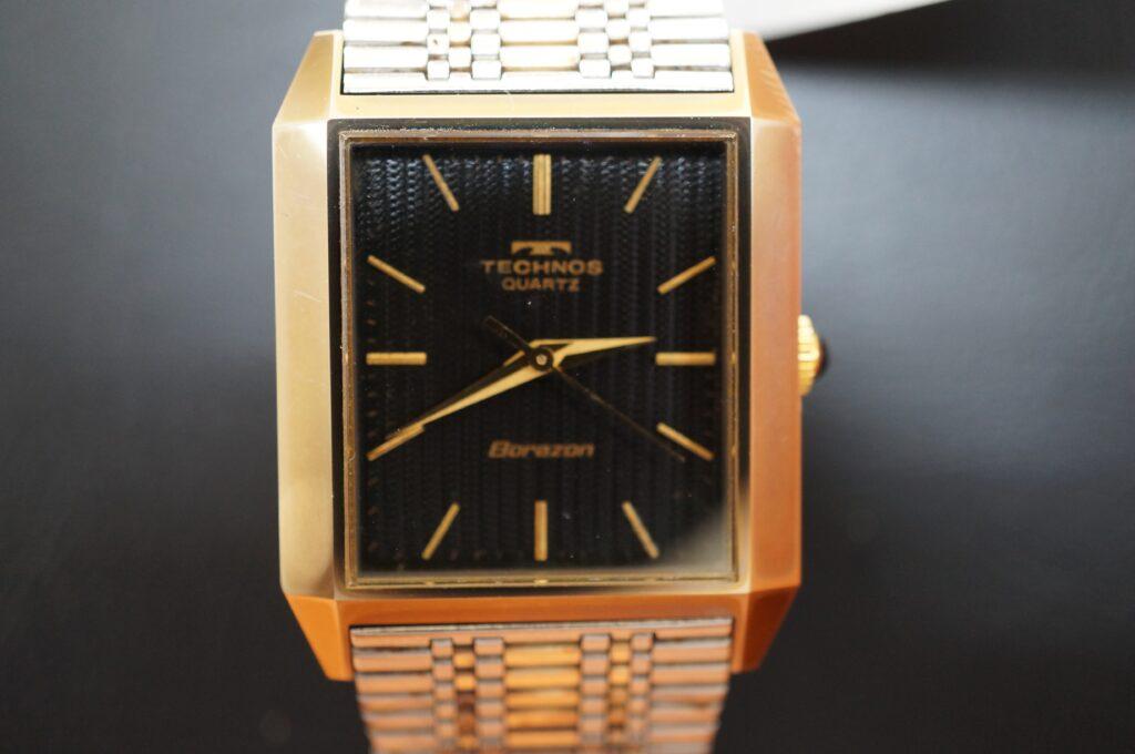 No.2473  TECHNOS(テクノス)  クォーツ式 腕時計を修理しました
