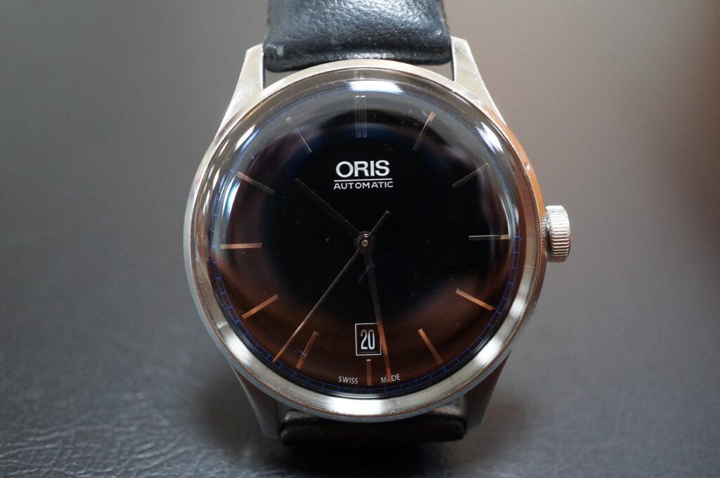 No.2470  ORIS(オリス)自動巻 腕時計を修理しました