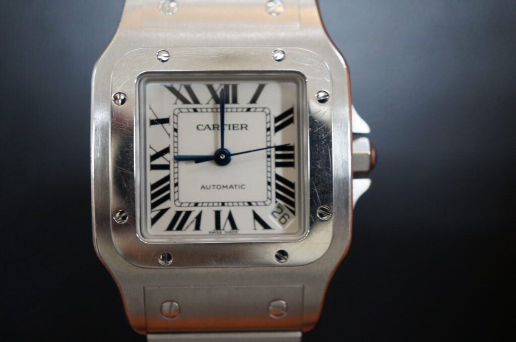 No.2475  CARTER(カルティエ) 自動巻 腕時計を修理しました