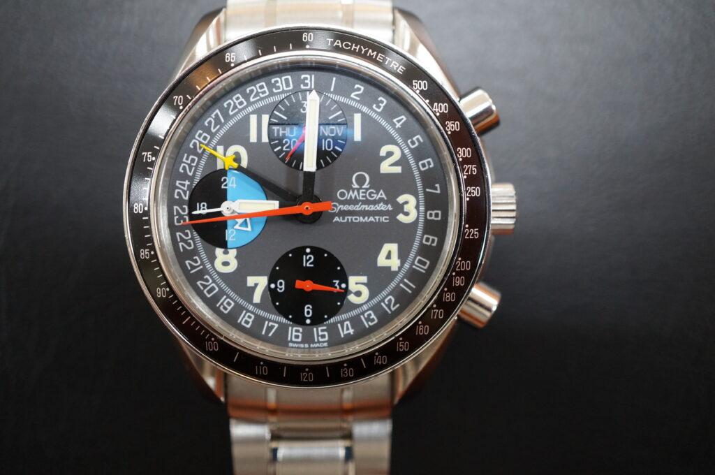 No.2474  OMEGA Speedmaster (オメガスピードマスター) 自動巻き 腕時計を修理しました