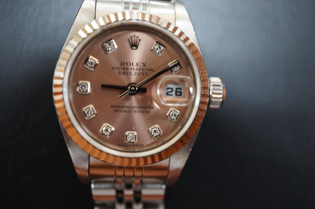 No.2478  ROLEX(ロレックス)自動巻 腕時計を修理しました