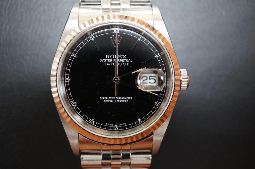 No.2485  ROLEX(ロレックス)自動巻 腕時計を修理しました