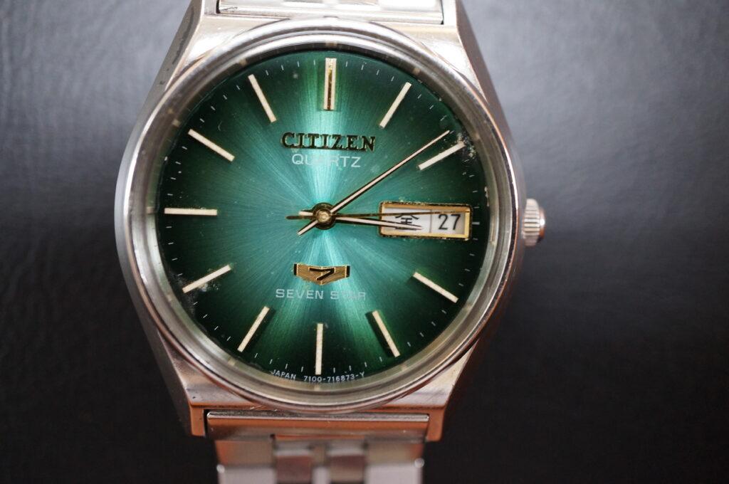 No.2482  CITIZEN (シチズン) クォーツ式 腕時計を修理しました