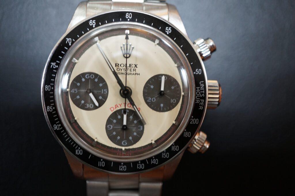 No.2481  ROLEX デイトナ ポールニューマン(コピー品)自動巻 腕時計を修理しました