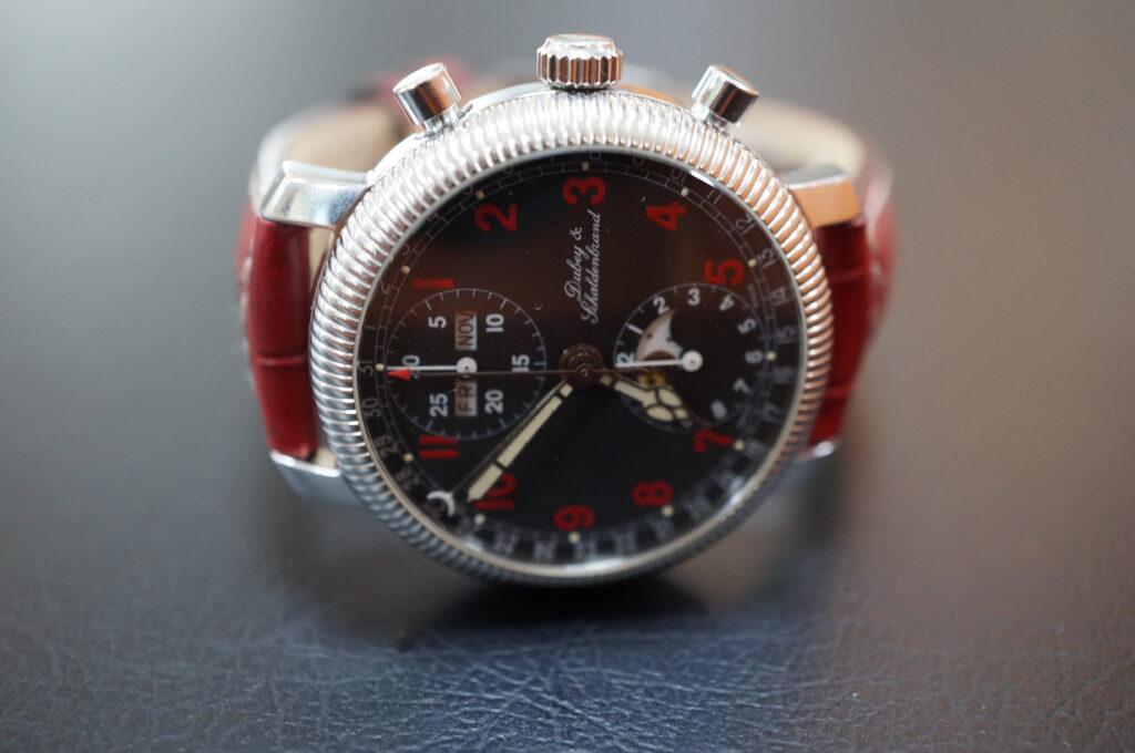 No.2479  Dubey & Schaldenband(ダービー&シャルデンブラン)自動巻 腕時計を修理しました