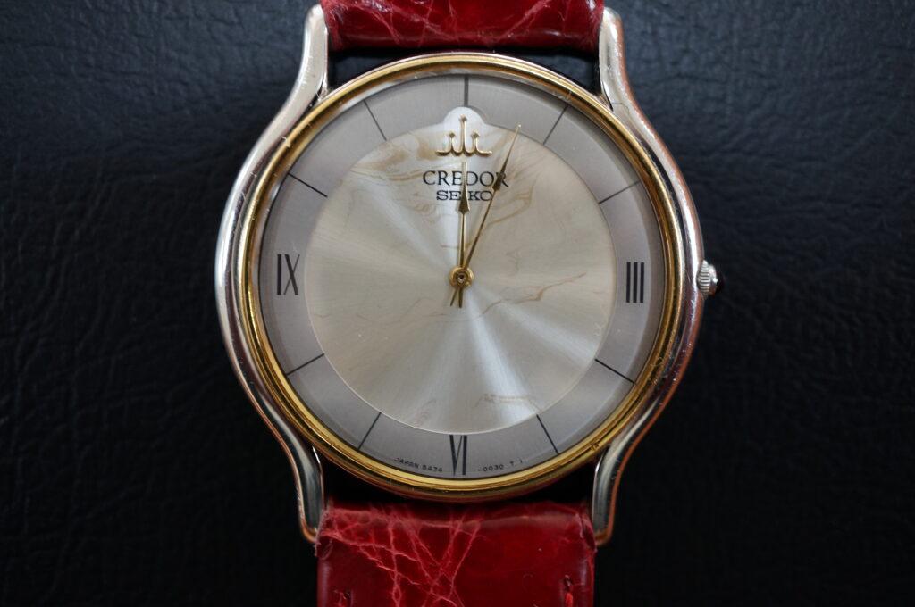 No.2487  CREDOR  (クレドール ) クオーツ式 腕時計を修理しました
