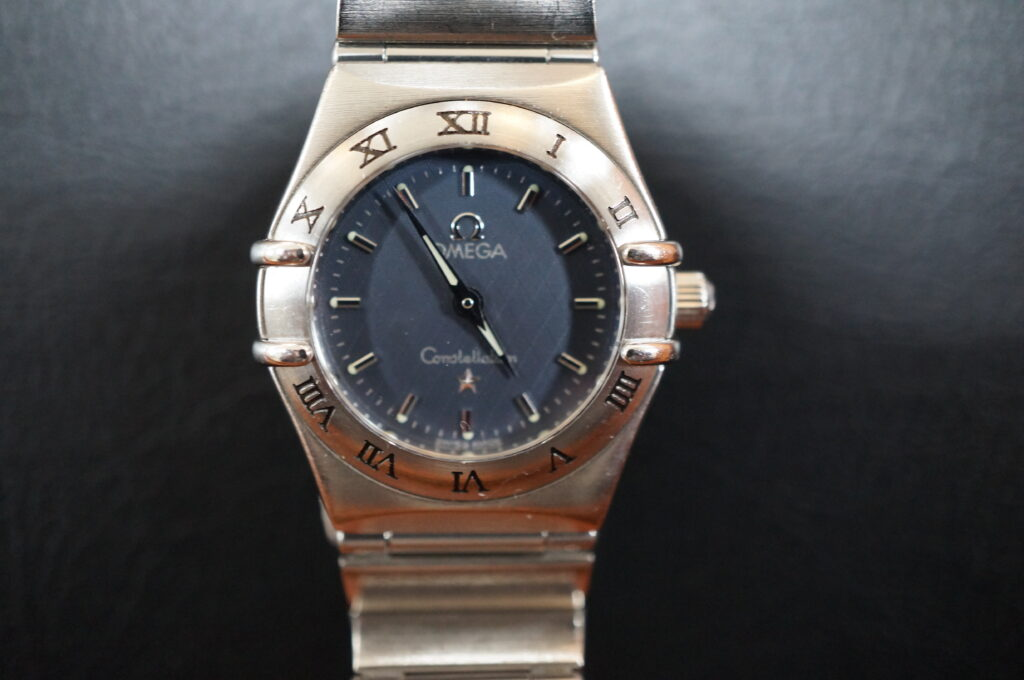 No.2489  OMEGA constellation (オメガ コンステーション) クォーツ式 腕時計を修理しました