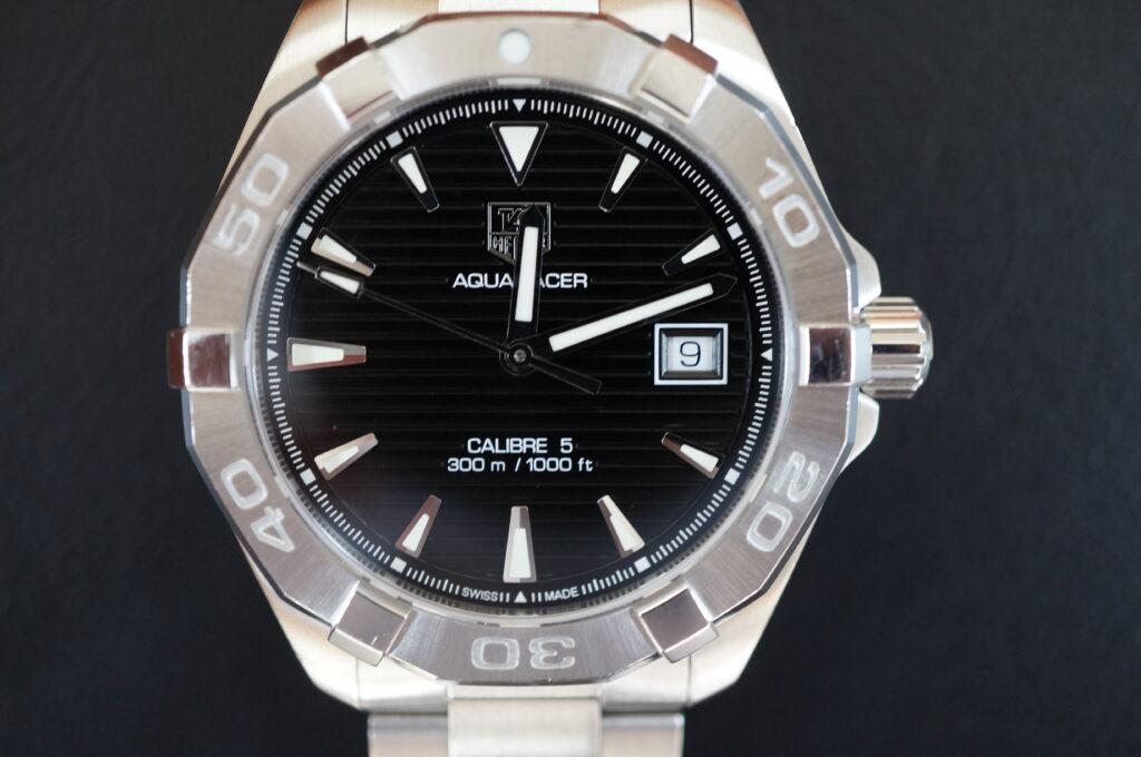 No.2501  TAG HEUER(タグホイヤー)自動巻式 腕時計を修理しました