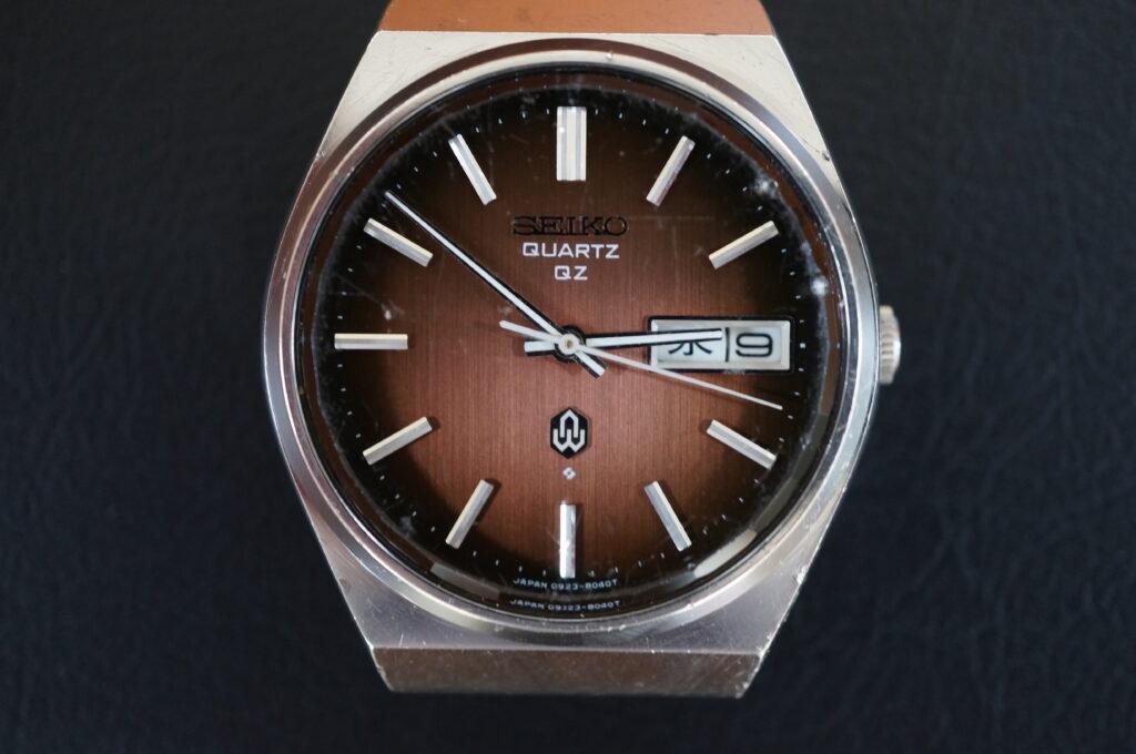 No.2500  SEIKO  (セイコー ) クオーツ式 腕時計を修理しました