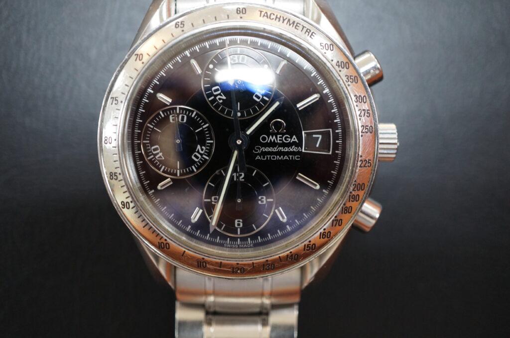 No.2488  OMEGA Speedmaster (オメガスピードマスター) 自動巻き 腕時計を修理しました