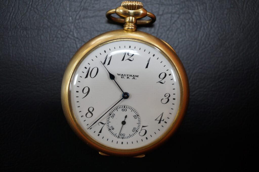 No.2508  WALTHAM(ウォルサム)手巻式 懐中時計を修理しました