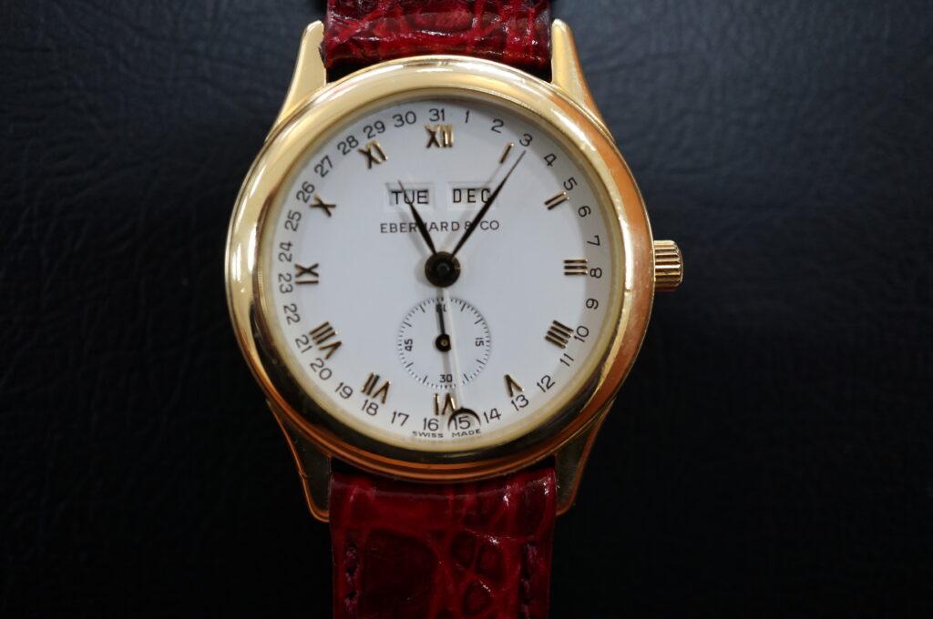 No.2507  EBERHARD & co(エベラール)クオーツ式 腕時計を修理しました