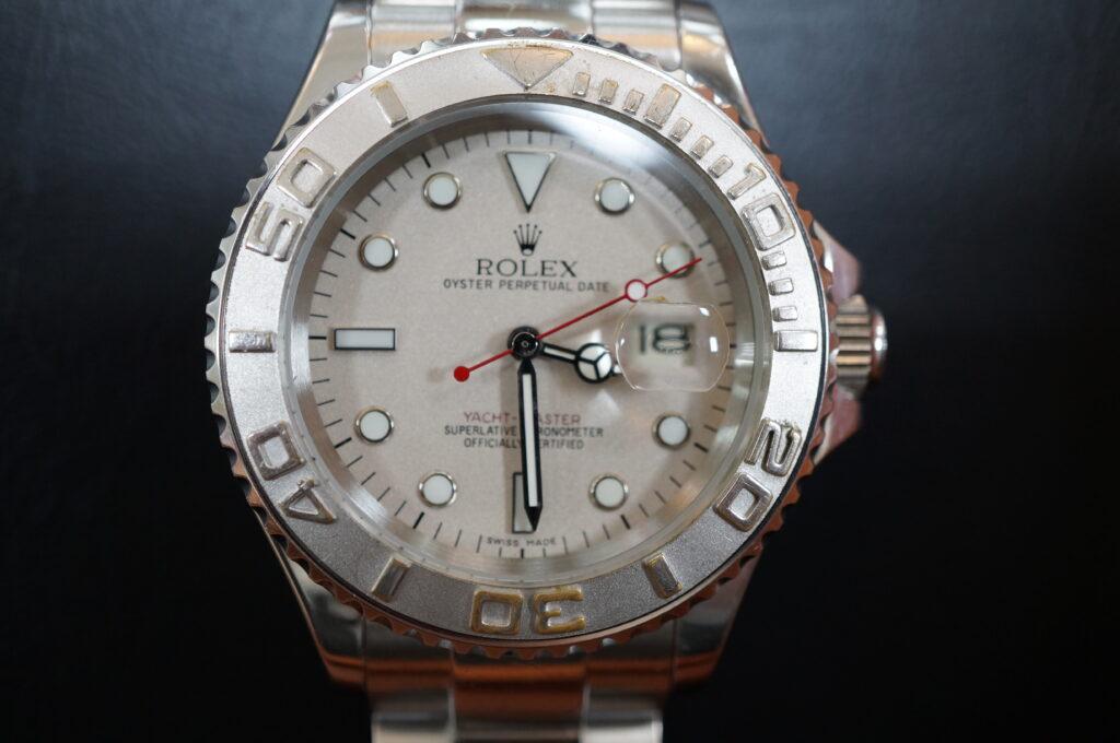 No.2504  ROLEX(ロレックス)コピー品 自動巻 腕時計を修理しました