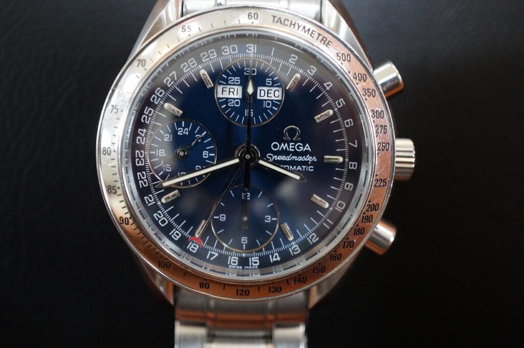 No.2503  OMEGA Speedmaster (オメガスピードマスター) 自動巻き 腕時計を修理しました