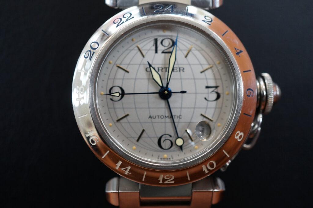 No.2509  CARTER(カルティエ)自動巻 腕時計を修理しました