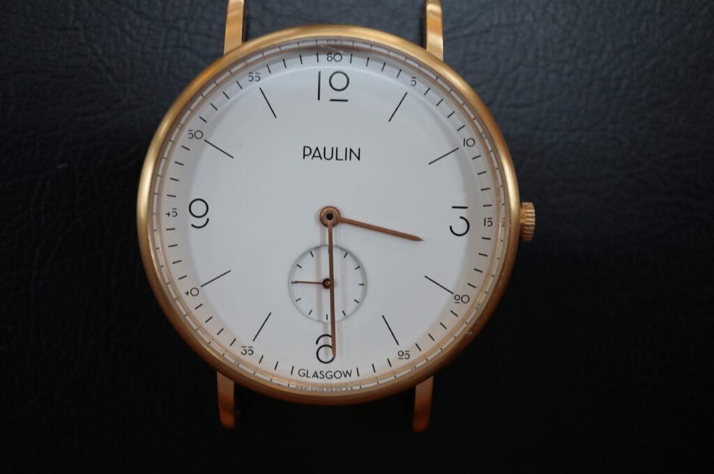 No.2516  PAULIN(ポーリン)クオーツ式 腕時計を修理しました