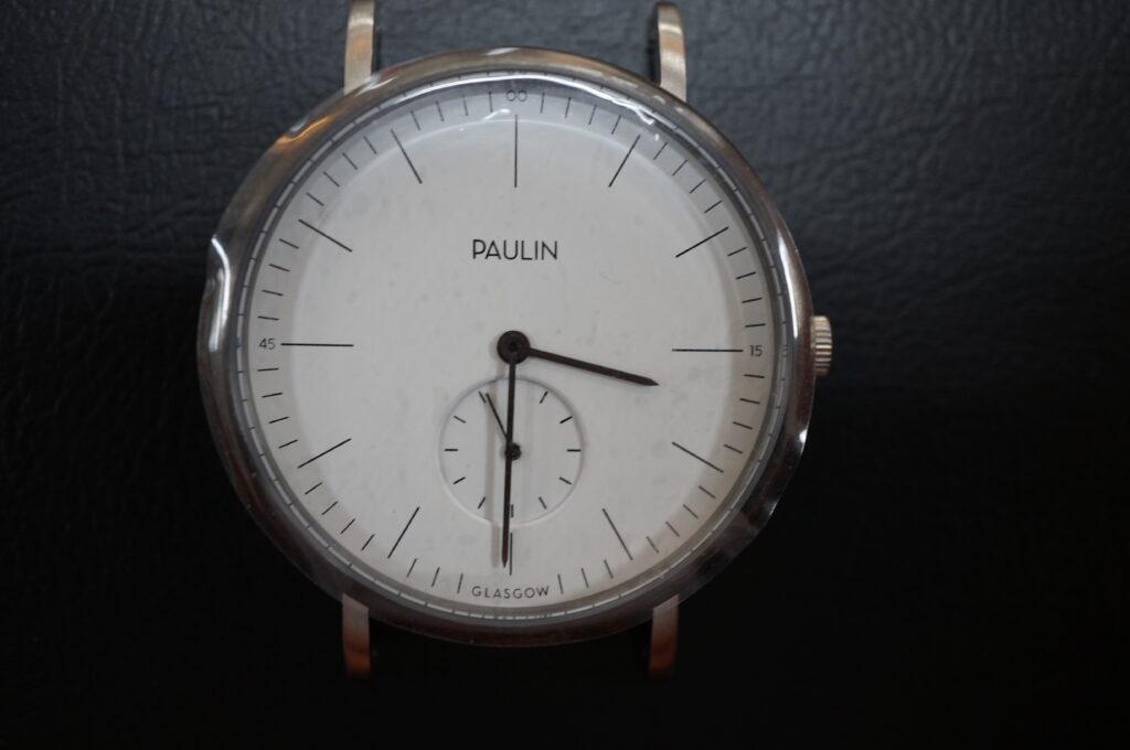 No.2515  PAULIN(ポーリン)クオーツ式 腕時計を修理しました