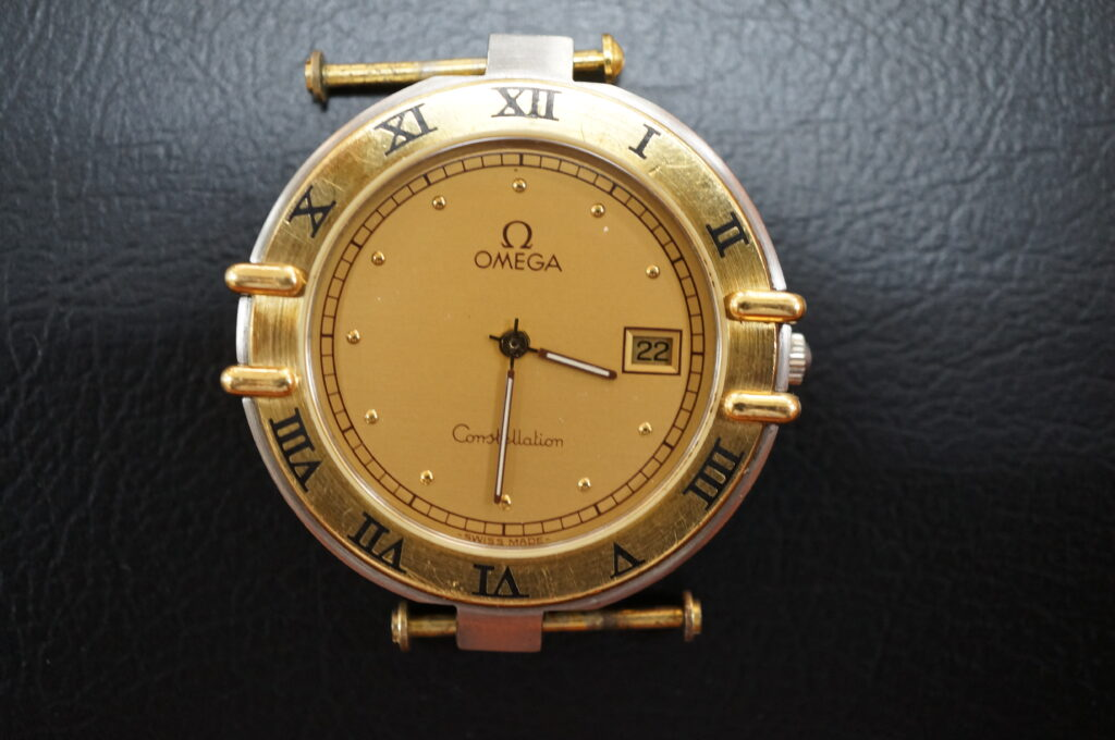 No.2518  OMEGA constellation (オメガ コンステーション) クォーツ式 腕時計を修理しました