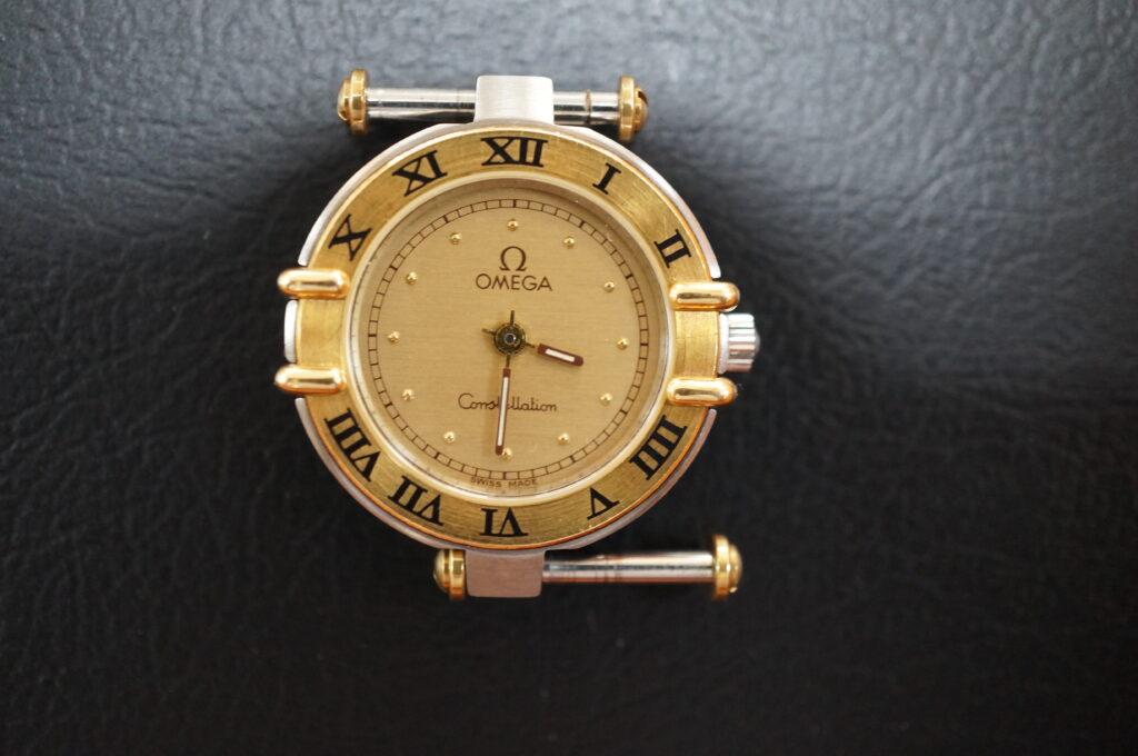 No.2517  OMEGA constellation (オメガ コンステーション) クォーツ式 腕時計を修理しました