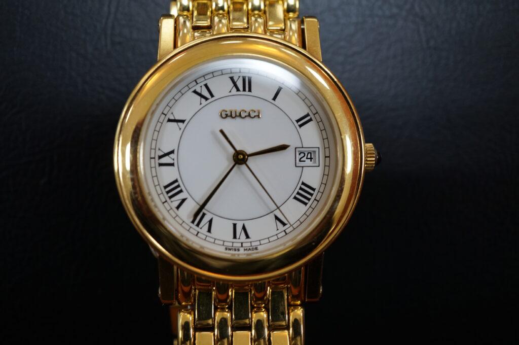 No.2521  GUCCI (グッチ) クォーツ式 腕時計を修理しました