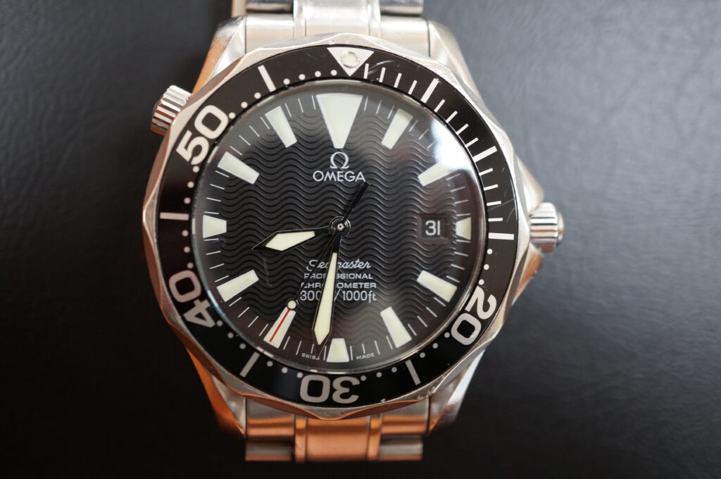 No.2543  OMEGA Seamaster  (シーマスター) 自動巻き 腕時計を修理しました