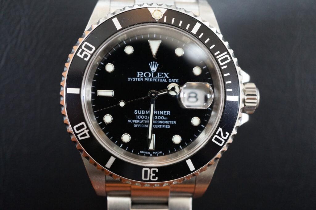 No.2527  ROLEX(ロレックス)自動巻 腕時計を修理しました