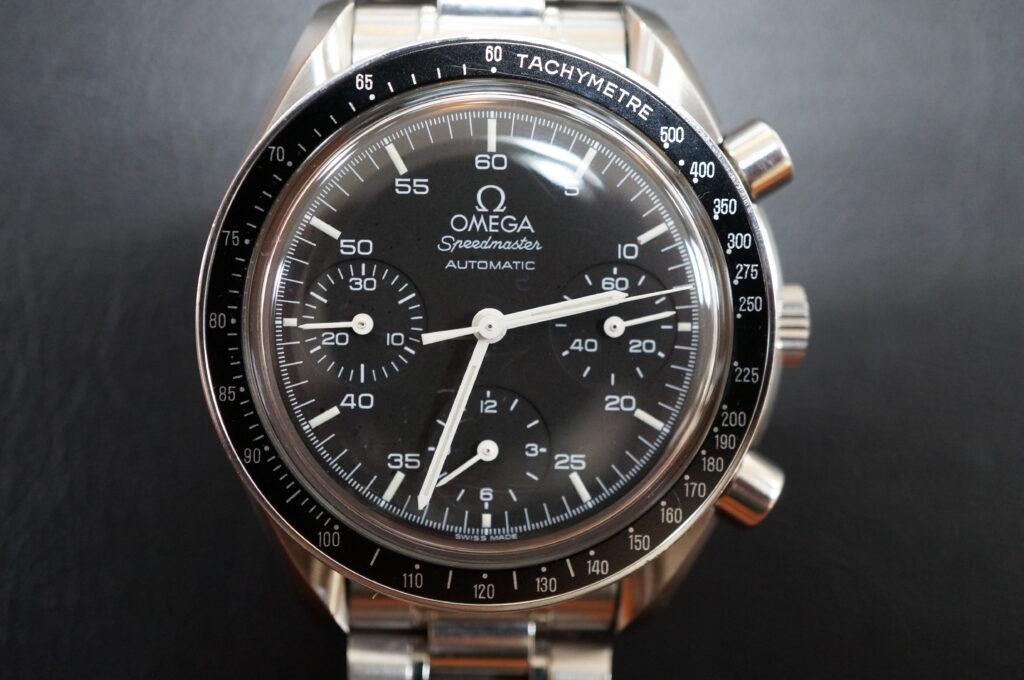 No.2540  OMEGA Speedmaster (オメガスピードマスター) 自動巻き 腕時計を修理しました