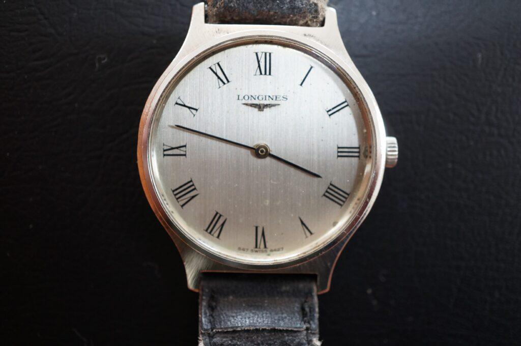 No.2541  LONGINES  (ロンジン) クオーツ式 腕時計を修理しました