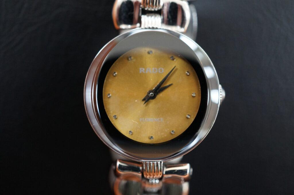 No.2526  RADO  (ラドー ) クオーツ式 腕時計を修理しました