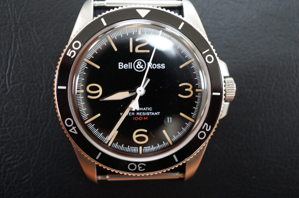 No.2528  Bell&Roes  (ベル&ロス ) クオーツ式 腕時計を修理しました