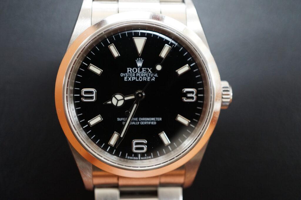No.2524  ROLEX(ロレックス)自動巻 腕時計を修理しました