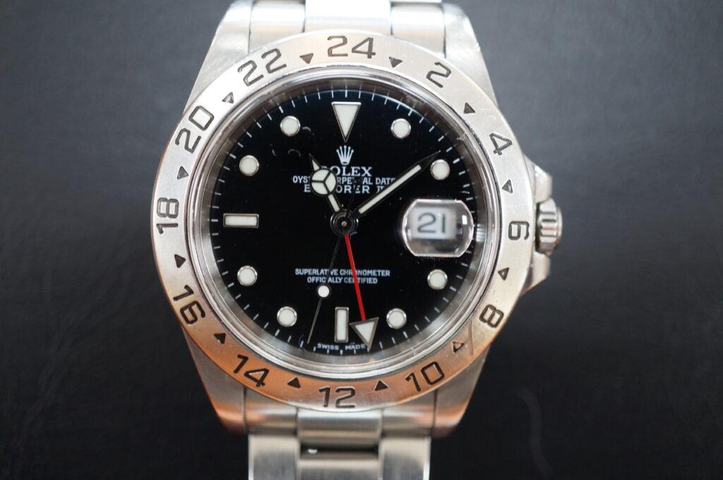 No.2544  ROLEX(ロレックス)自動巻 腕時計を修理しました
